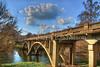 Scenic Bridge at Bennett Spring State Park (Uncle Phooey) Tags: statepark bridge eveningsun scenic arches explore missouri ozarks goldenhour nianguariver bennettspring highway64 southwestmissouri lebanonmissouri unclephooey bennettspringbridge scenicmissouri