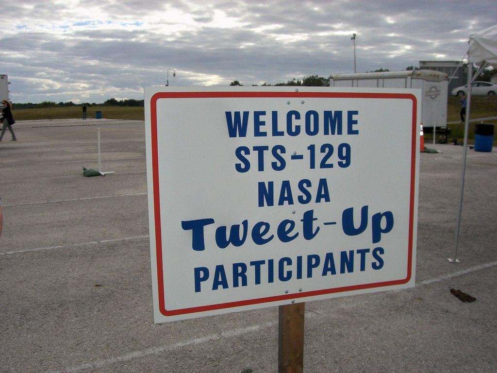 Tweetup Sign