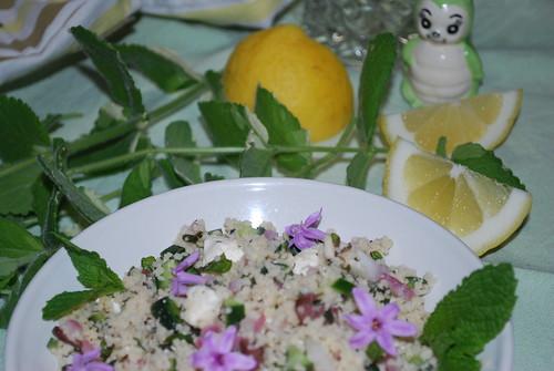 simple cous-cous salad