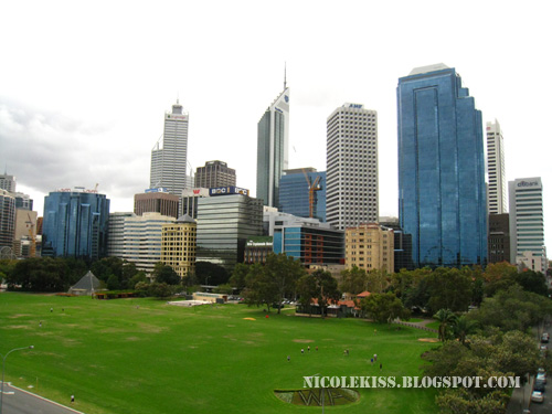 perth skyline from bell tower