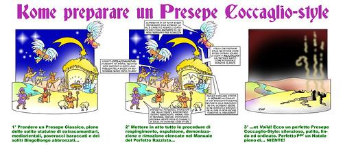 White Presepe -Coccaglio-Style