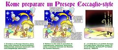 White Presepe -Coccaglio-Style di Moise-Creativo Galattico