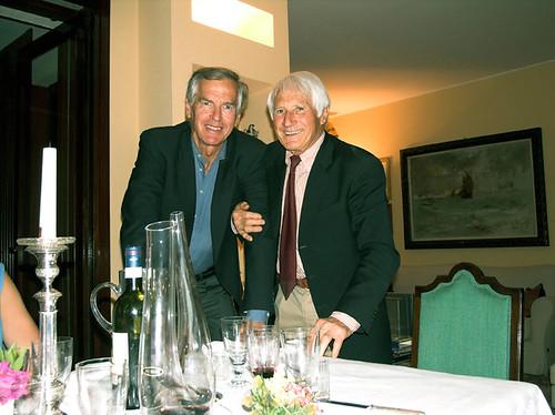 con Walter Bonatti da amici