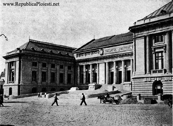 Palatul Justitiei - 1937