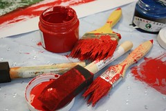 red paints