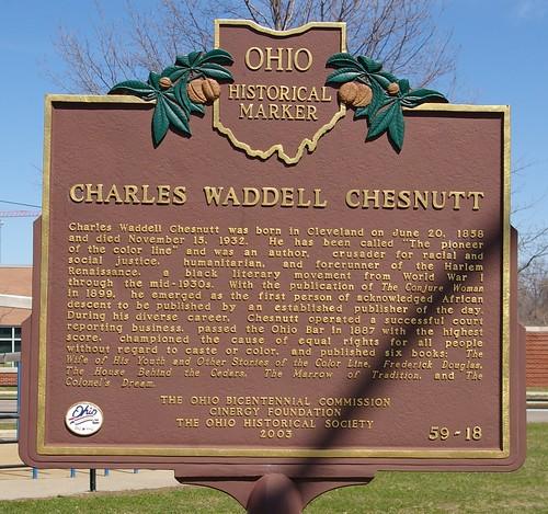 Charles Waddell Chesnutt historical marker