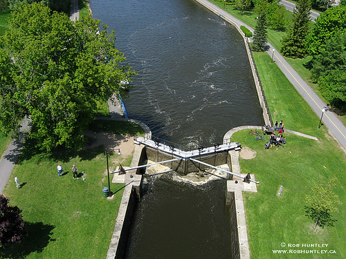 Hartwell Locks are on the Rideau Canal system,