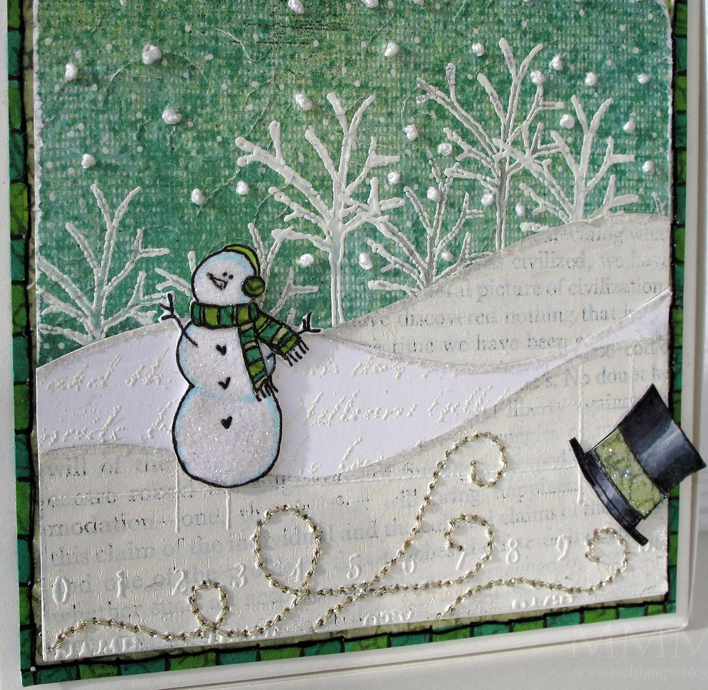 Purple Onion Design Frosty gift box (mel stampz) - CLOSE