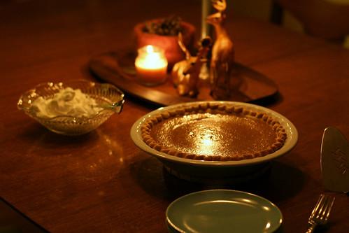 candlelight dessert