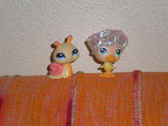 Caracol y Pato (Laura Lyoko) Tags: pets toys mascotas juguetes hasbro lps littlestpetshop