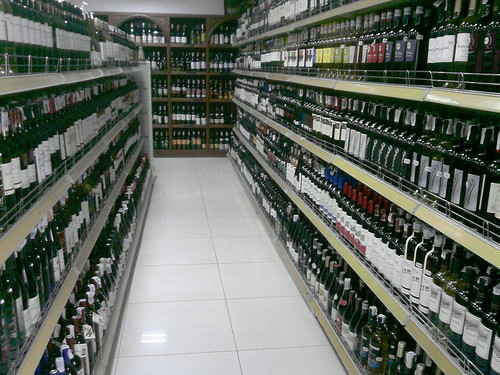 wine shelfing cambodia