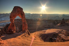 Late Afternoon in Utah (Brad-Miller) Tags: sunset southwest utah arches moab archesnationalpark archesnp nationalparks delicatearch coloradoplateau flickrdiamond