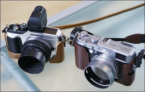 Fuji X100 Olympus E-PL2 Panasonic 20mm f/1.7