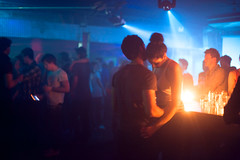 Subclub (TGKW) Tags: boy portrait people woman man girl night am couple candle glasgow candid nightclub dancefloor candlelight nightlife intimate subclub 8025 i