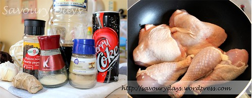 Chicken with Cherry Coke