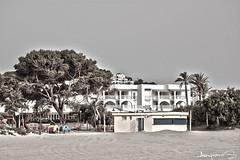 Casita de playa (Amparo fotografia) Tags: paisajes mar playa lugares monumentos atardeceres casas amaneceres