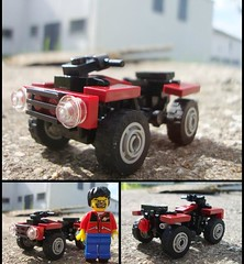 Yamaha Grizzly 700 ([Maks]) Tags: lego quad yamaha atv grizzly