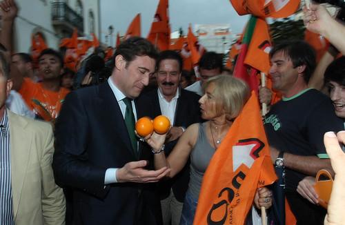 Pedro Passos Coelho arruada em Viseu