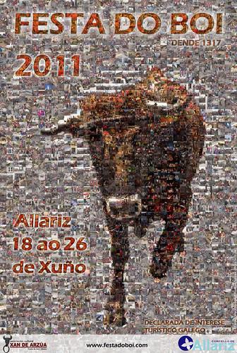 Allariz  2011 - Festa do Boi - cartel