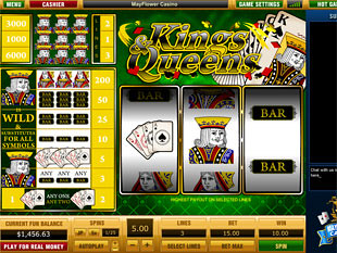 Kings and Queens slot game online review