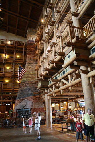 Disney World trip - Day 2 - Wilderness Lodge
