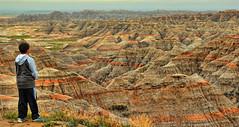 An Unusual View (Jeff Clow) Tags: southdakota landscape raw overlook ta badlandsnationalpark 1exp jeffrclow