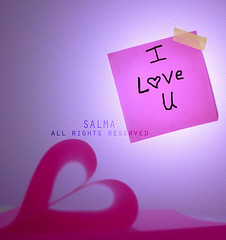 N (Salma Alzaid ) Tags: pink cute love girl paper heart post girly note shape salma askme   canong10 mlg0o0fa salmaphotography httpwwwformspringmemlg0o0fa