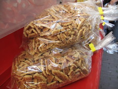 Crumbs of stroopwaffles