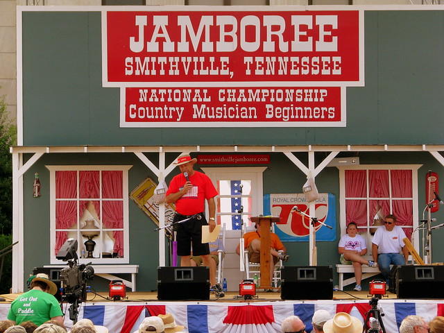 Smithville Fiddler's Jamboree main stage