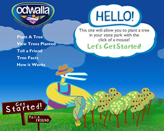 Quicken Loans DIFF blog tells you how to plant a tree for free with Odwalla