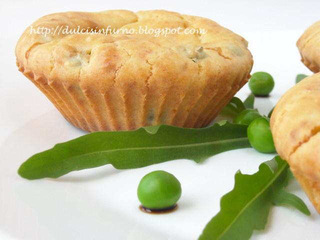 Muffins ai Piselli