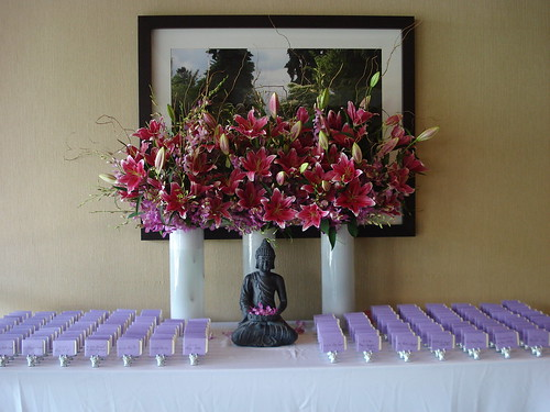 Escort Card table with DIY cards