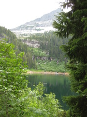 St. Paul lake (c'estbonne) Tags: mountain lake tree nature forest montana cabinet hike cedar hemlock stpaullake