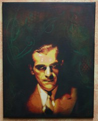 Boris Karloff Canvas (>tony<) Tags: street art vintage painting stencil acrylic canvas frankenstein layers spraypaint mummy acrylicpaint darkart boriskarloff borris karloff classicmovies kustomkulture