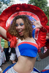 Zomercarnaval 2009 (ksvrbrg) Tags: pierced sunshine happy rotterdam belly button 2009 summercarnival zomercarnaval
