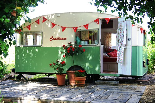 Constance 1956 Vintage Caravan by snailtrail.co.uk vw camper hire
