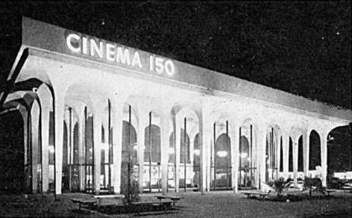 Cinema 150 (front view)- Santa Clara, California ca. 1966