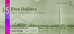 The Dollar ReDe$ign Project: $5