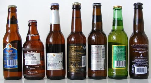 Aziatische Biertjes