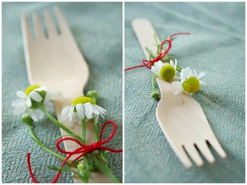Floral Forks