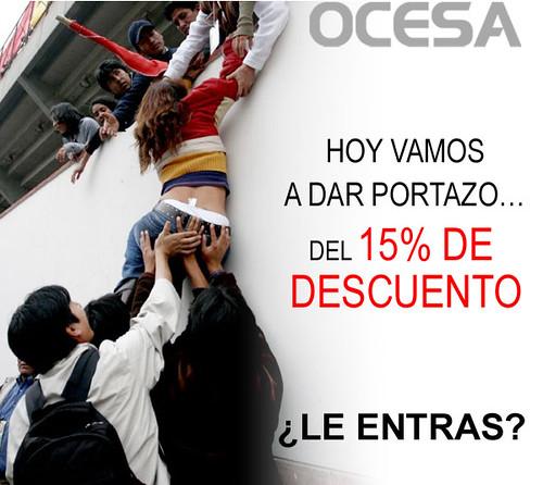 ¡PORTAZO! 15% DE DESCUENTO EN CONCIERTOS SOLO ESTE MARTES
