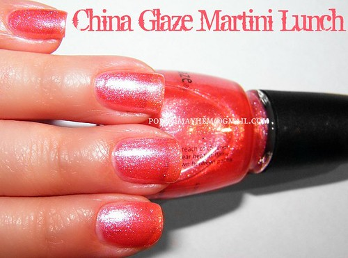 China Glaze Martini Lunch