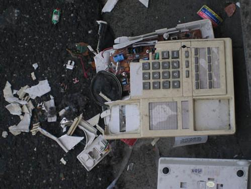 OrrSt Smashed Phone