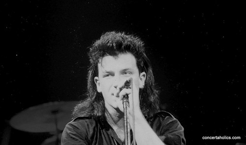 Bono of U2 in 1985 | Toronto
