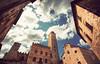 San Gimignano - Medieval Manhattan (Manlio Castagna) Tags: sky tuscany sangimignano toscana hdr manlio photomatix tonemapped tonemap manliok