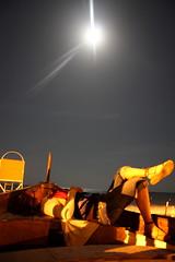 je suis (M@rg0t) Tags: estate fine luna luci colori pensieri piena circolo nautico caldo loano gozzo