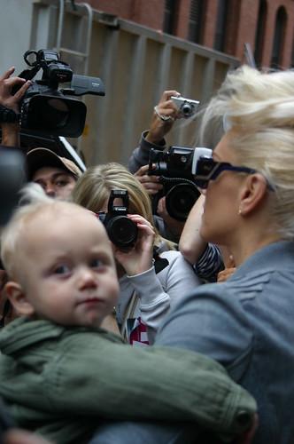 Gwen Stefani and Zuma Rossdale Leave L.A.M.B. 4