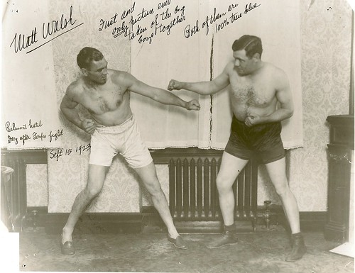 Jack Dempsey and Babe Ruth