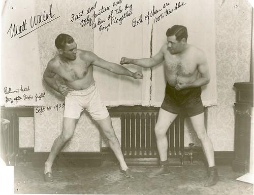 Jack Dempsey vs Babe Ruth