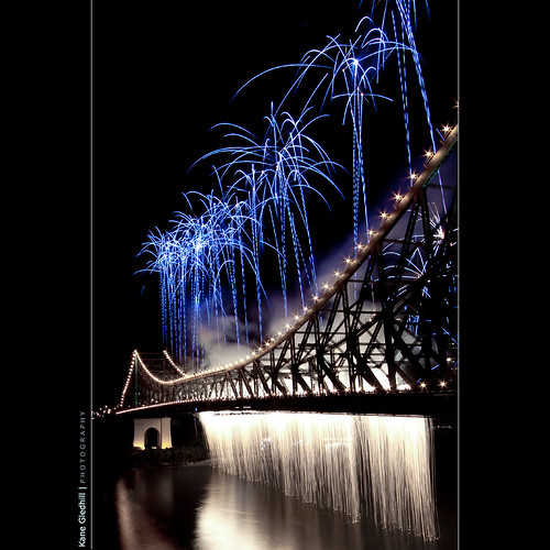 Riverfire 2009 - The Waterfall - by Kane Gledhill